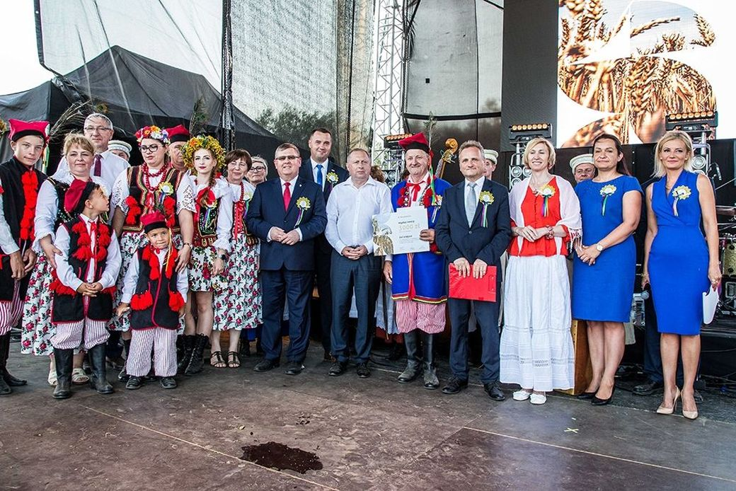 Wieniec z Poręby Radlnej najpiękniejszy w Małopolsce!